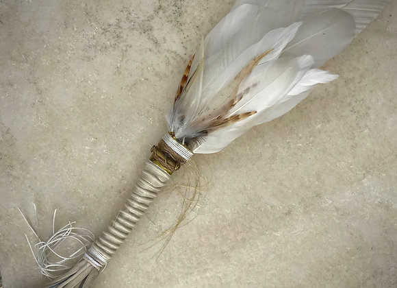 Feather Fan (SOLD)