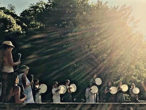 Drumming in the Golden Light