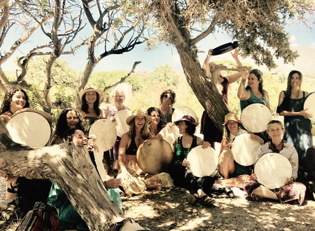 Drumming in Crete, Greece