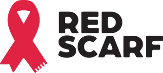 Red Scarf Logo - No Tagline - Stacked.pn