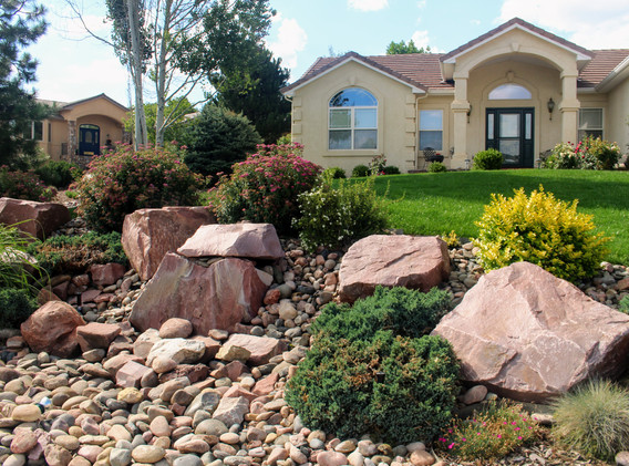 Residential Landscaping Project in Color