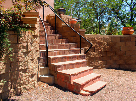 Retaining Wall Constructed by Peloquin S