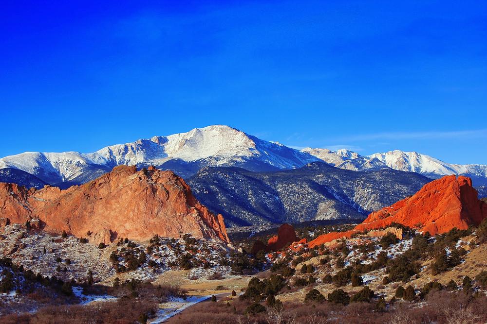 Beautiful Landscape Colorado Springs