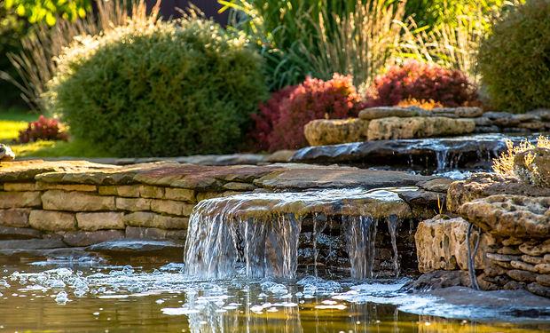 Residential Waterscape - Colorado Spring
