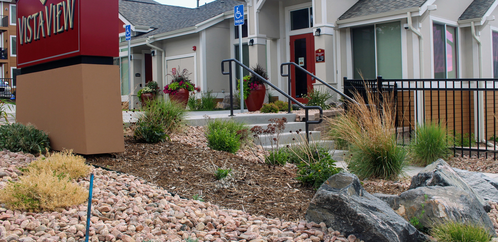 Commerical Xeriscaping Designed by Peloq