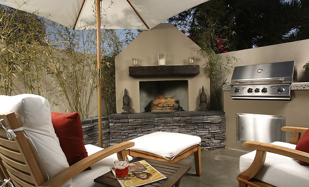 Outdoor Living Spaces Installed in Color