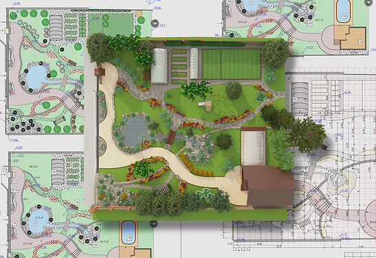 Landscaping Design Plan Created by Peloq