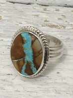 Roystun Turquoise and Sterling Silver