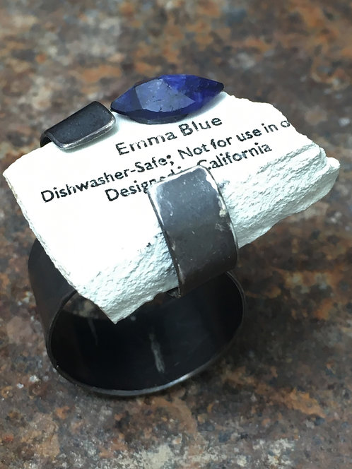 Emma Blue - Sapphire Ring