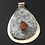 Thumbnail: Zion Red Stone on Silver Stone Pendant