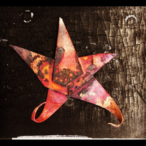 """""""Starfish Abstract"""" - torch-fired patina achieved on abstract copper starfish pendant"""