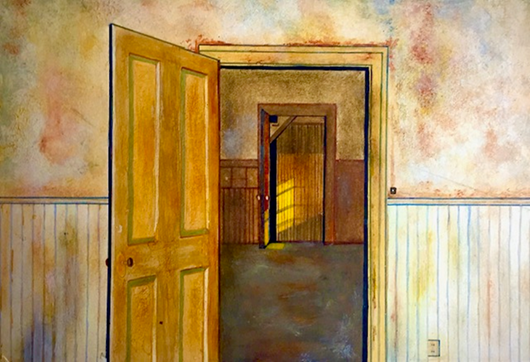 """BIG BASIN IN THE BACK ROOM _________ (20"""" x 28"""") GICLEE"""