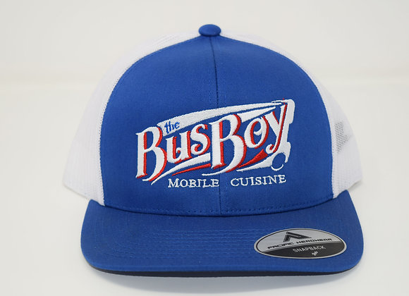Bus Boy Trucker Hat (Blue)