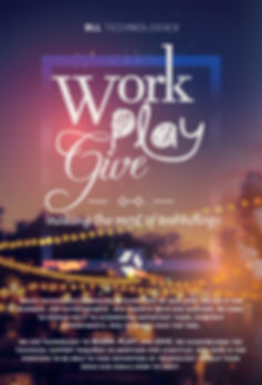 DLL Slogan, Work Play Give