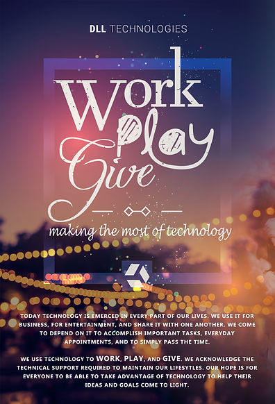 DLL Slogan, Work Play Give