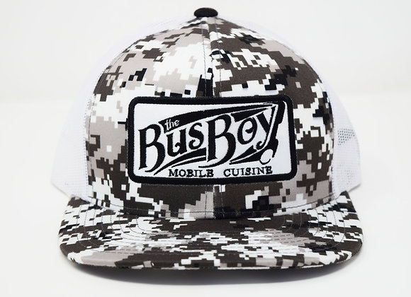 Bus Boy Trucker Hat (Camo)