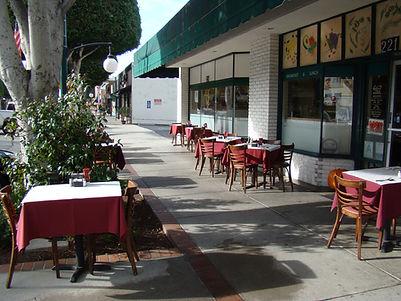 Village Eatery Sidewalk