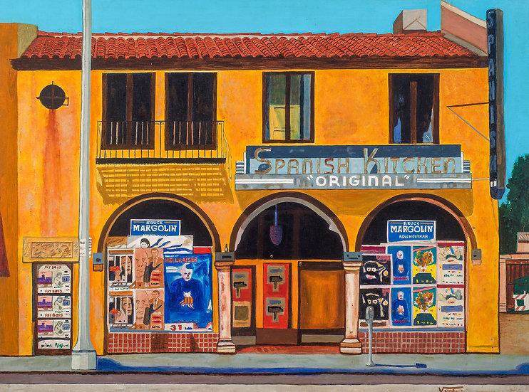 """SPANISH KITCHEN #2  _________Original Painting (30"""" x 40"""")"""