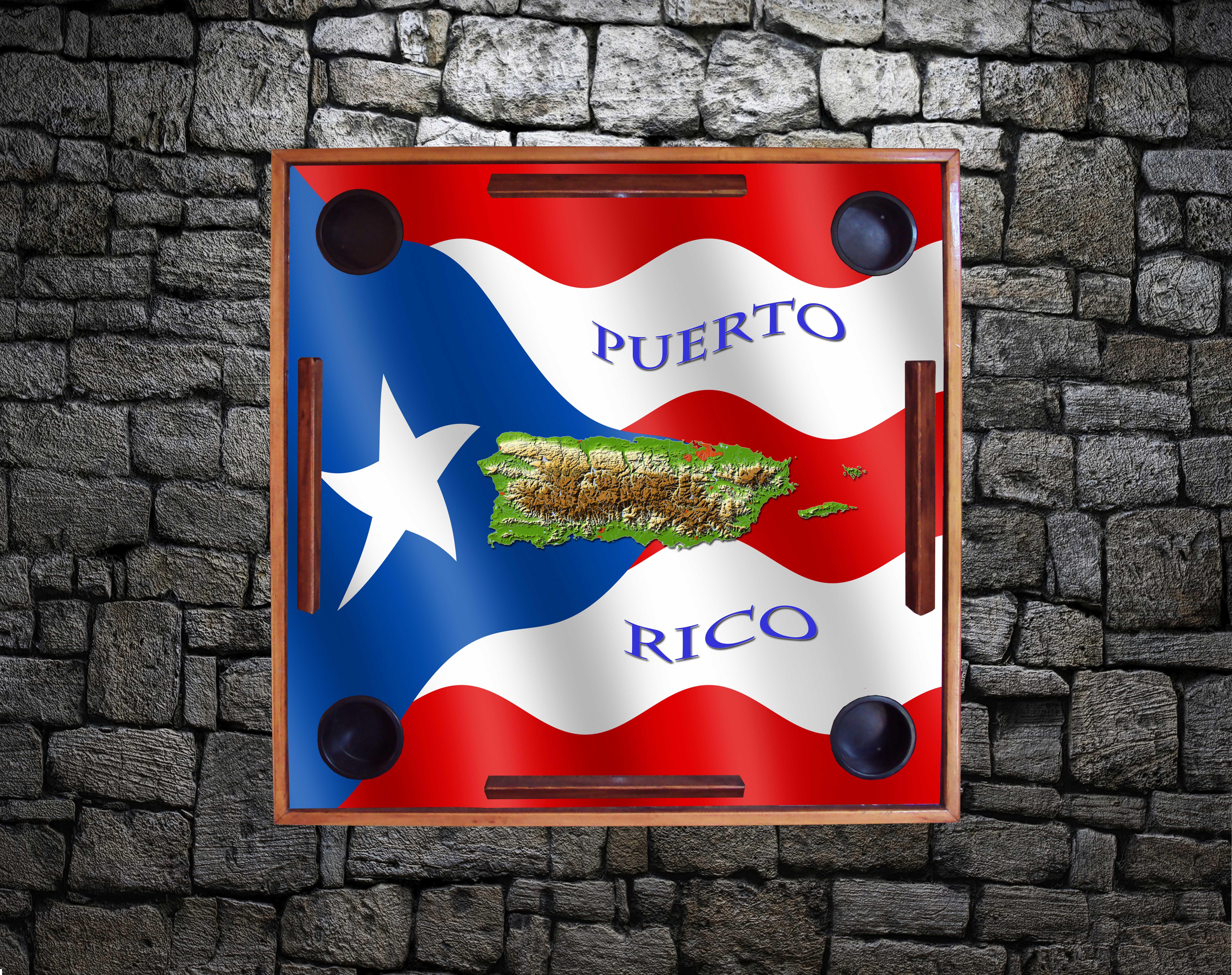 PR Flag & Island