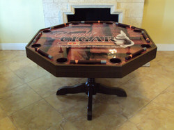 Truly Cigars Poker Table