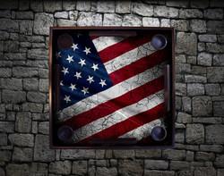 Weathered Flag - USA