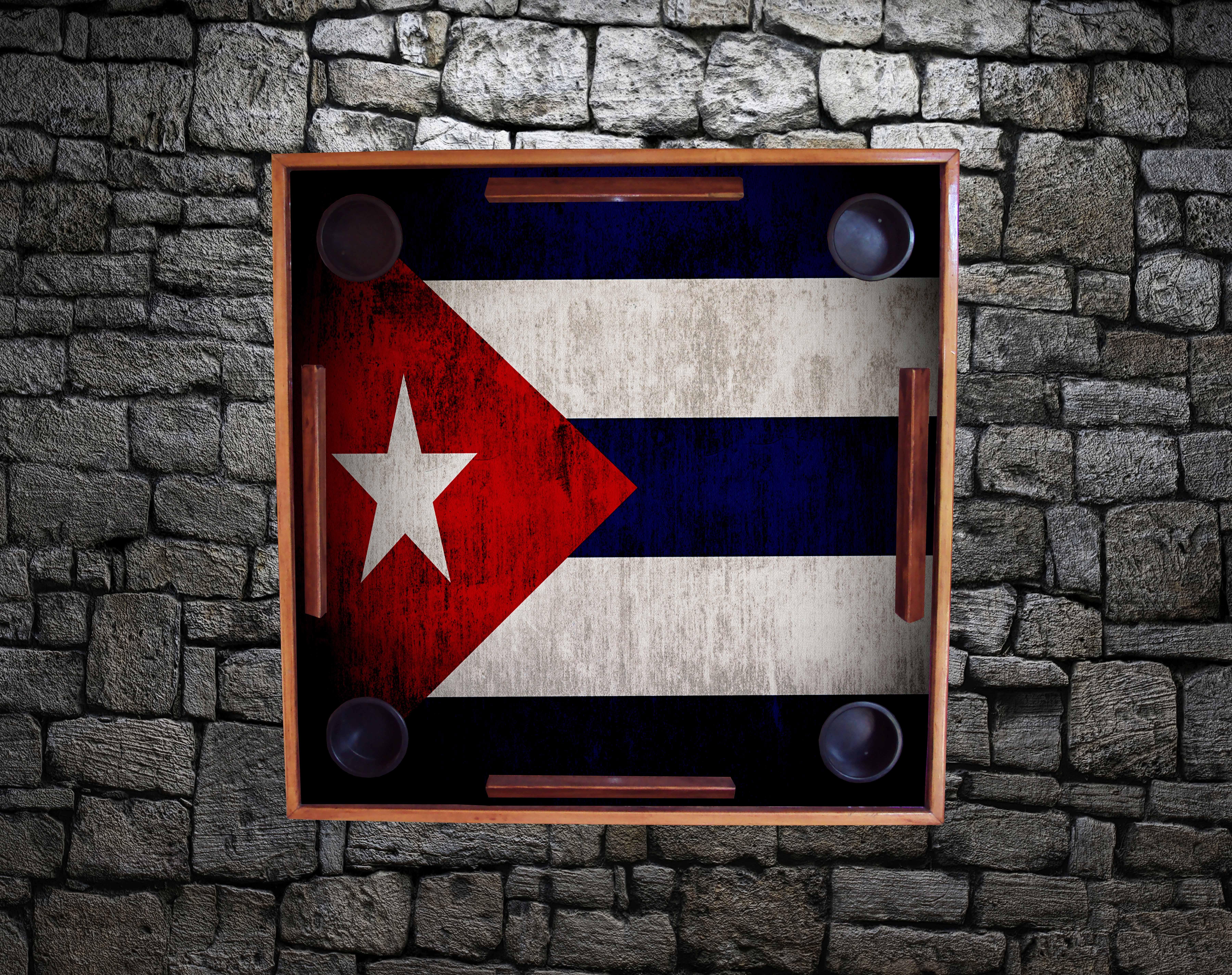 Weathered Flag - Cuba