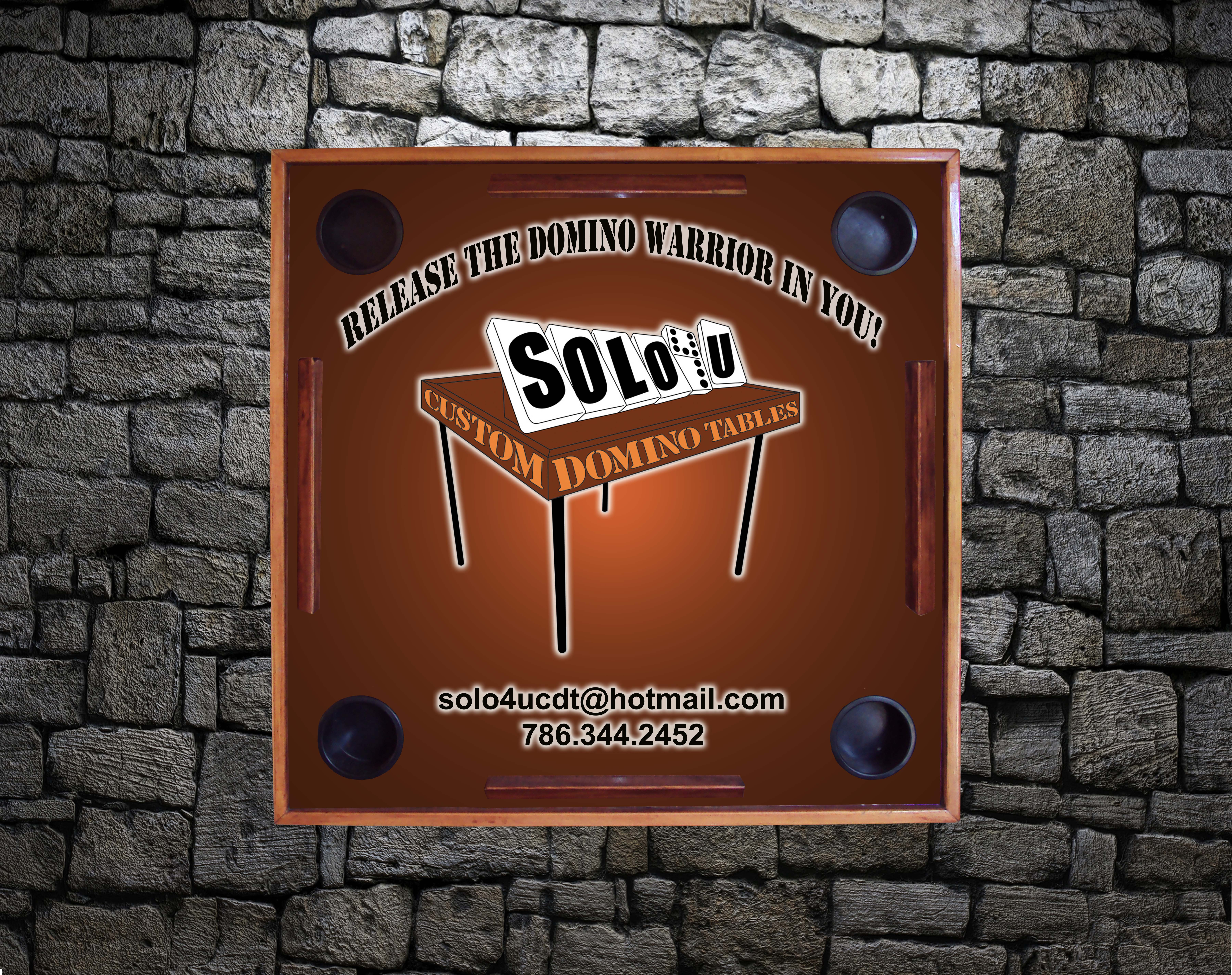 Solo4U Logo Table