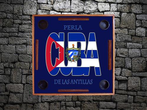 Bandera de Cuba-Perla de las Antillas