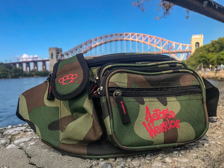 ASTORIA WARRIOR – CAMO FANNY PACK