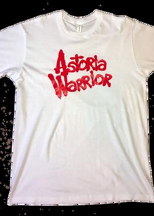 ASTORIA WARRIOR – WHITE/RED TEE