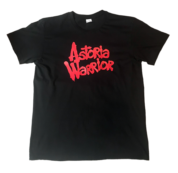 ASTORIA WARRIOR – BLACK/RED TEE