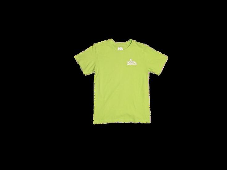 ASTORIA WARRIOR - NEON GREEN TEE SHIRT WITH 3M GRAFF GRAPHICS