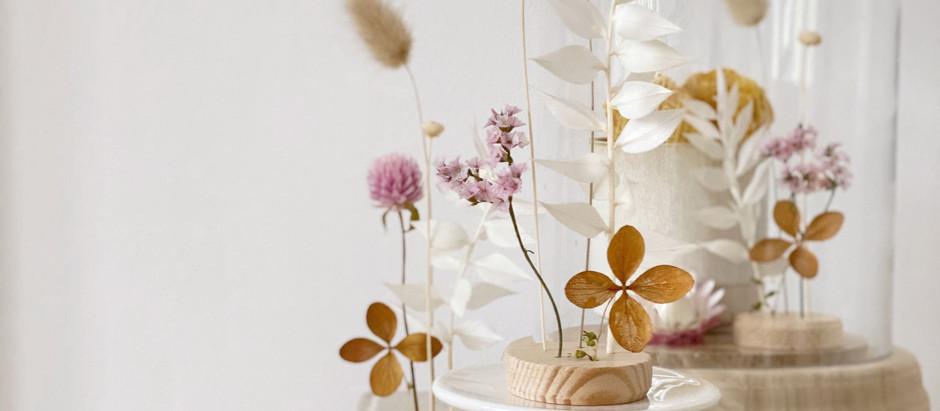 DIY: Flores Secas Inspiradas em Ikebana