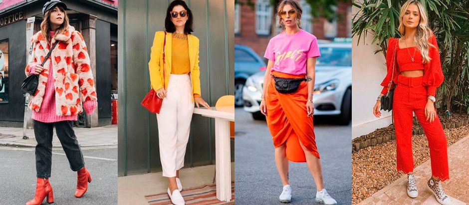 Como usar looks coloridos sem medo?