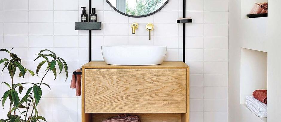 10 ideias de lavatórios de banheiro para se inspirar