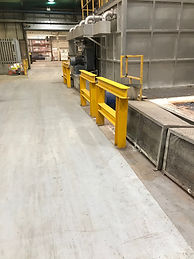 barrier instalation