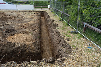 Groundwork trench