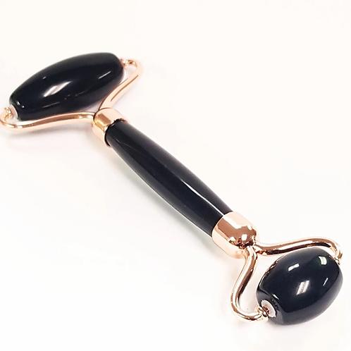 Pure Black Obsidian Roller