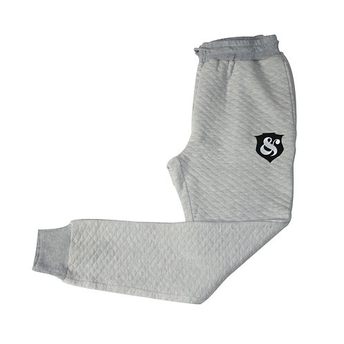 Quilted Jogger GREY
