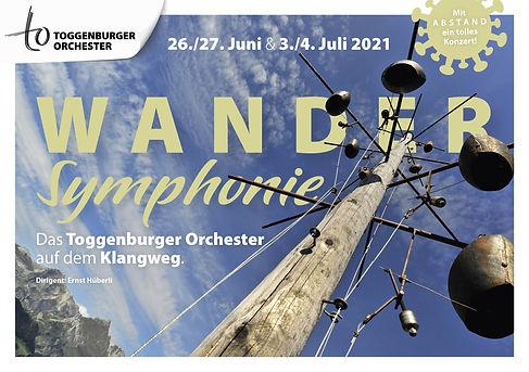 Das Toggenburger Orchester auf dem Klangweg.