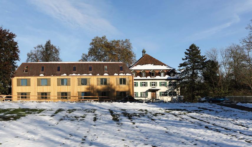 Neubau «Sunnehüsli» Thurhof, Oberbüren SG