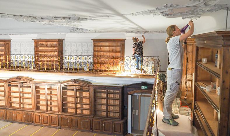Restaurierung Bibliothekssaal, Kloster Fischingen TG