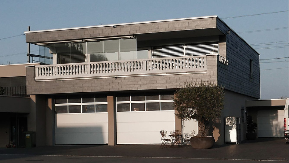 Betriebsgebäude mit Wohnung, Rheineck,