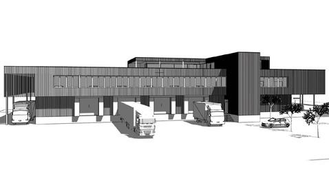 Betriebsgebäude, Balgach,