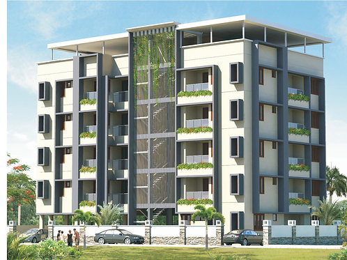 2 BHK, 1245 Sq ft Apartment at Irumpanam, Kochi