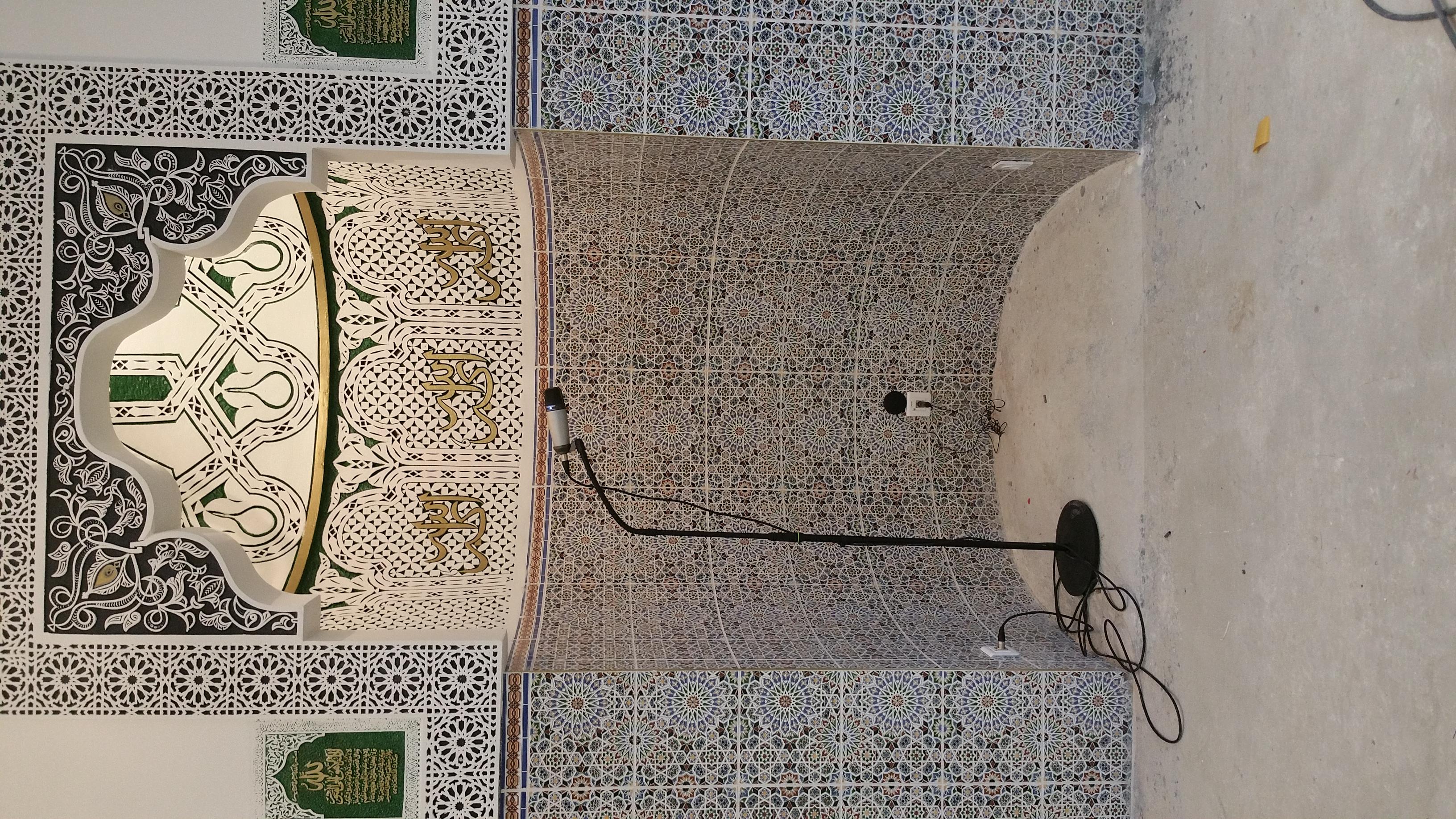 Micro salat mosquée de Rennes
