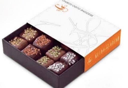 Des Gelées de Fruits Enrobées De Chocolat