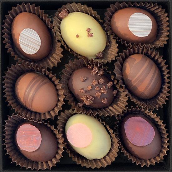 Boîte Chocolats  décorée