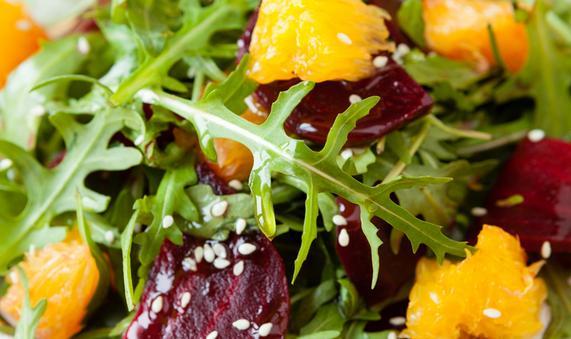 Salade de Bresaola et Orange