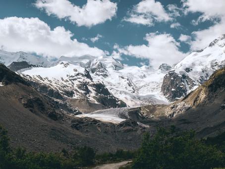Le glacier de Morteratsch : facile et joli !